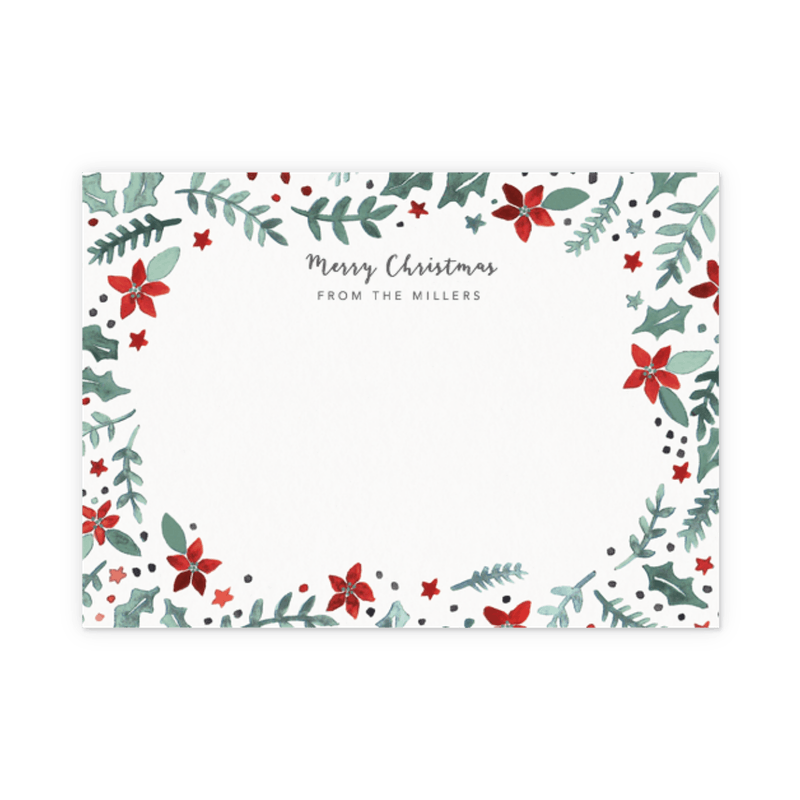christmas stationery sets christmas notecards papier