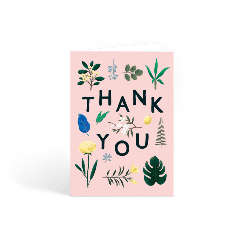 Personalized Thank You Card Sets Notes Papier