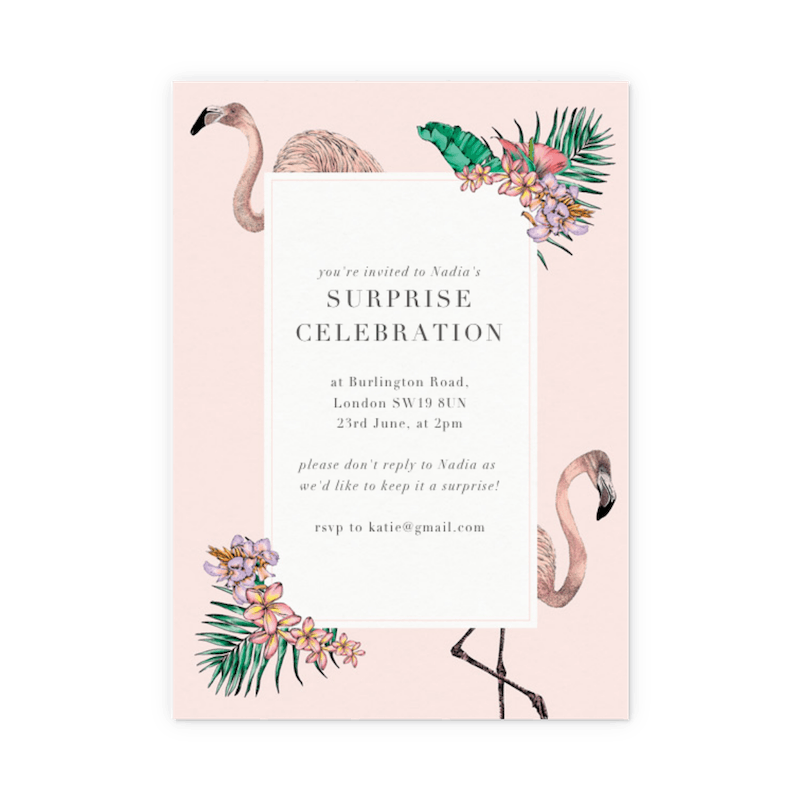 wedding invitations party