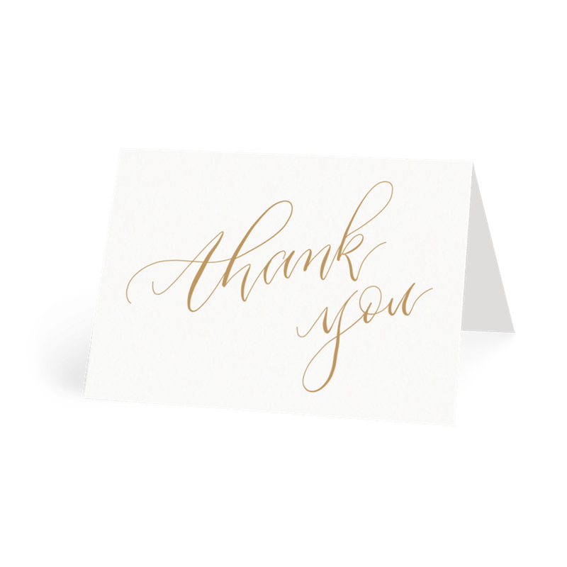 Wedding Thank You Card Etiquette When Who To Send To Papier
