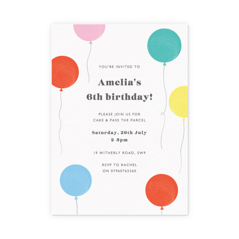 customisable invitations create order online papier