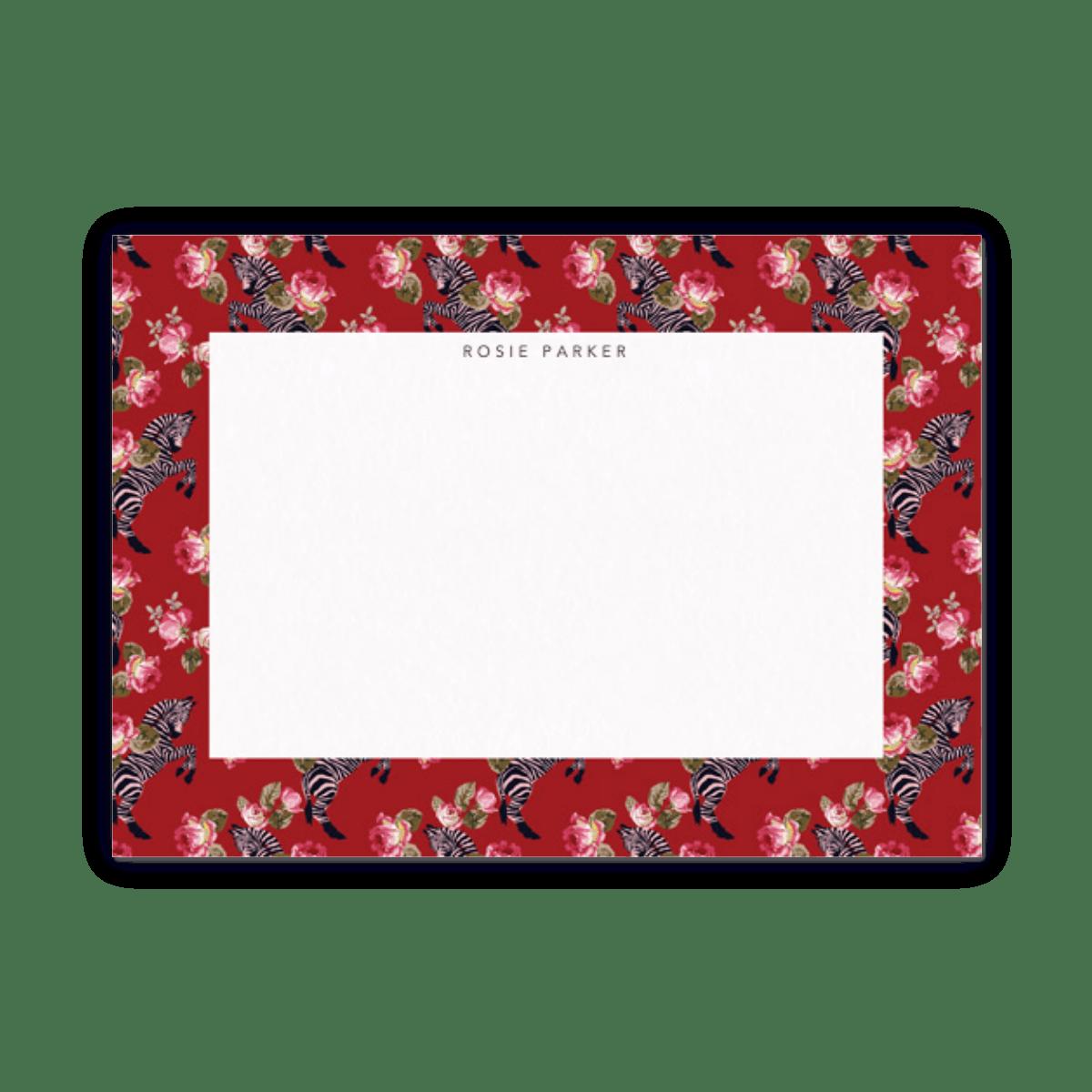 Zebra | Stationery Set | Papier