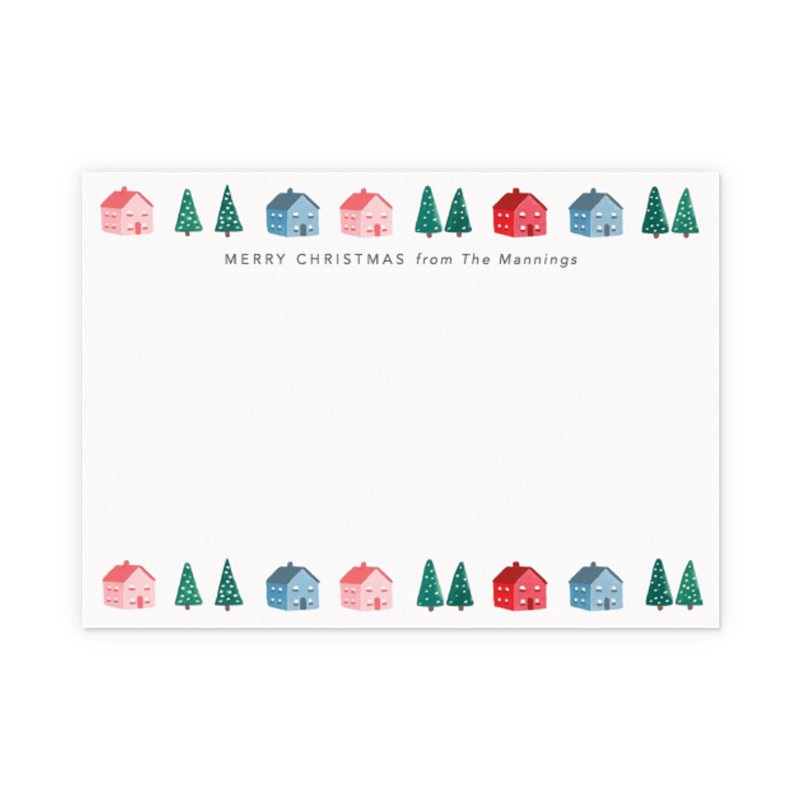 christmas stationery sets holiday notecards papier