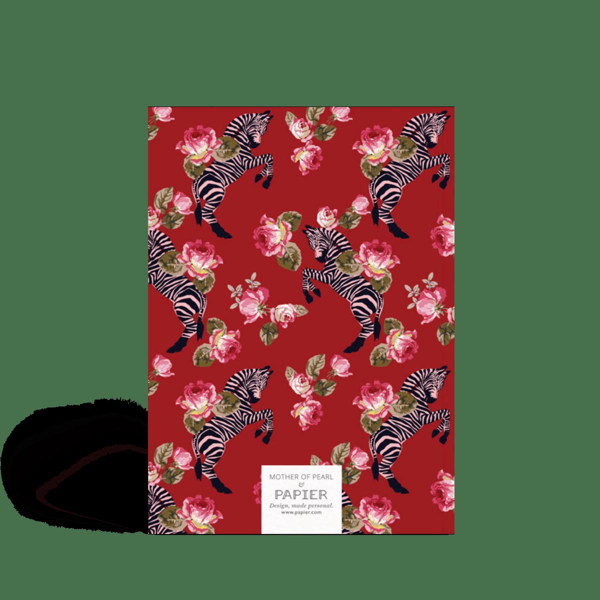 Zebra | Sketchbook | Papier