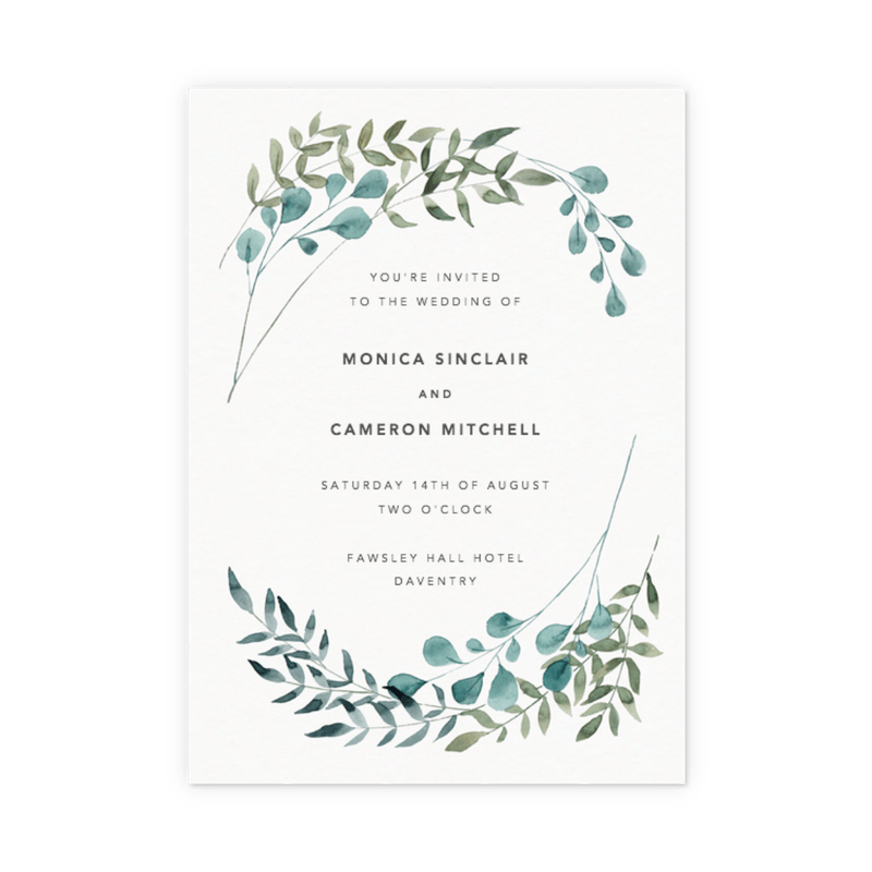 wedding invitations rsvp info card sets papier