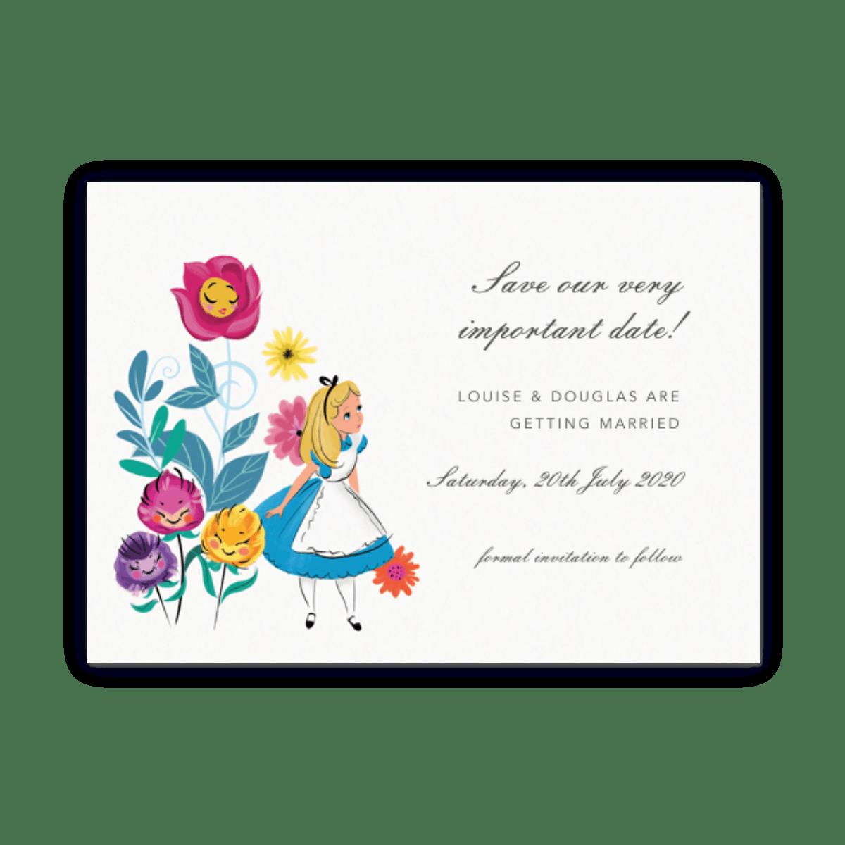 Alice In Wonderland Mid Year Diary Papier