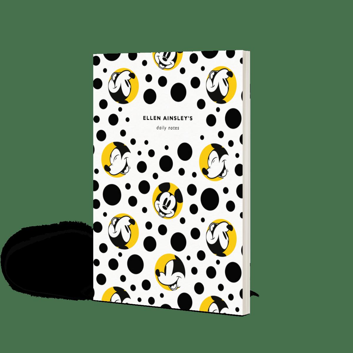 Micky Maus | Notizbuch | Papier
