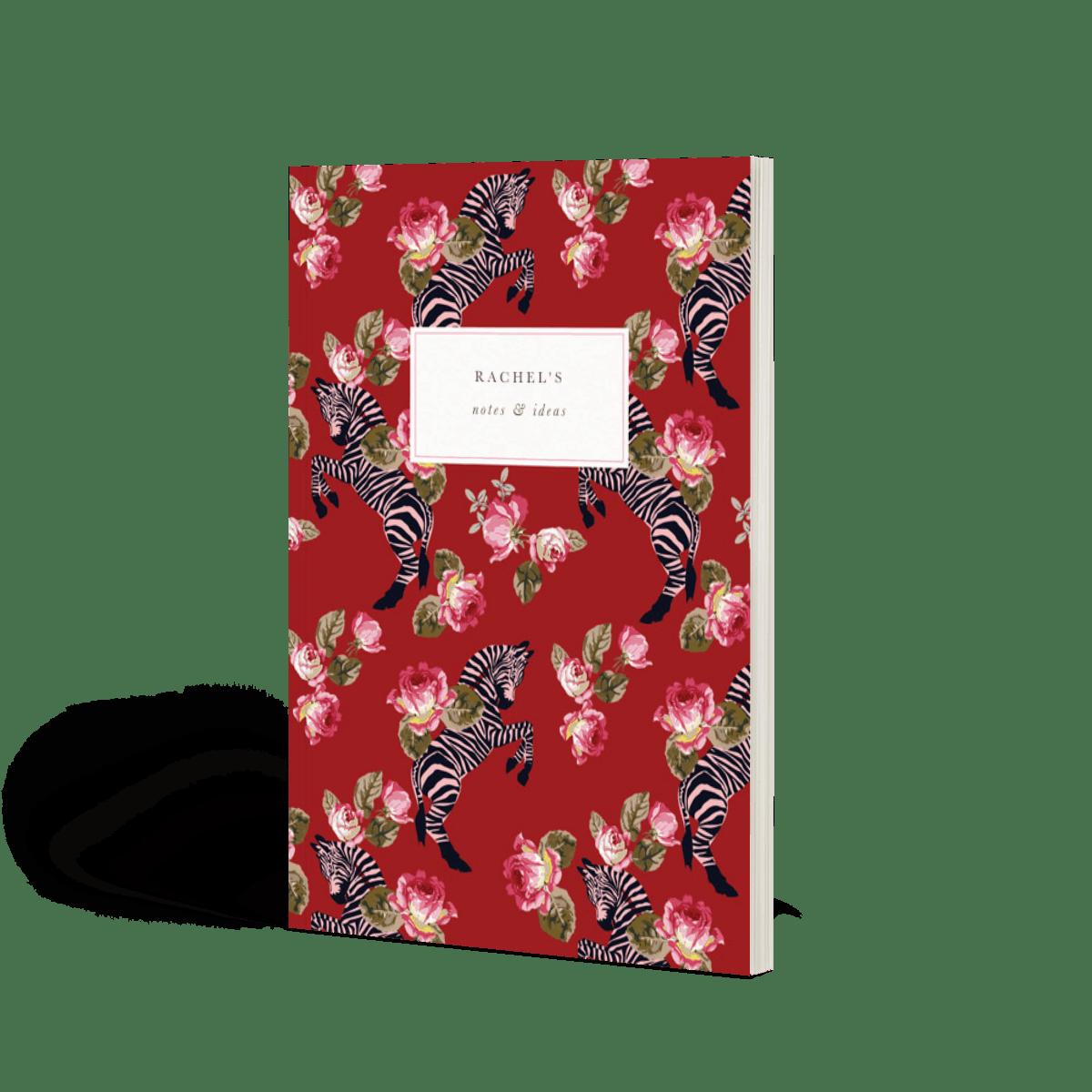 Zebra | Dotted Notebook | Papier