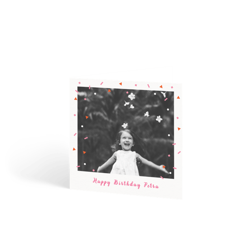 Personalised Birthday Cards For Children