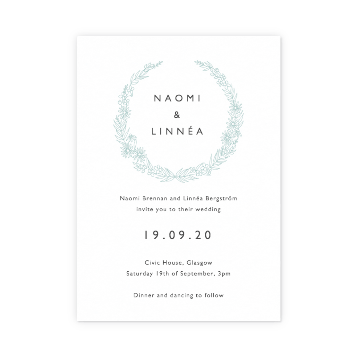 Wedding Invitation Wording - Ideas & Inspiration  Papier