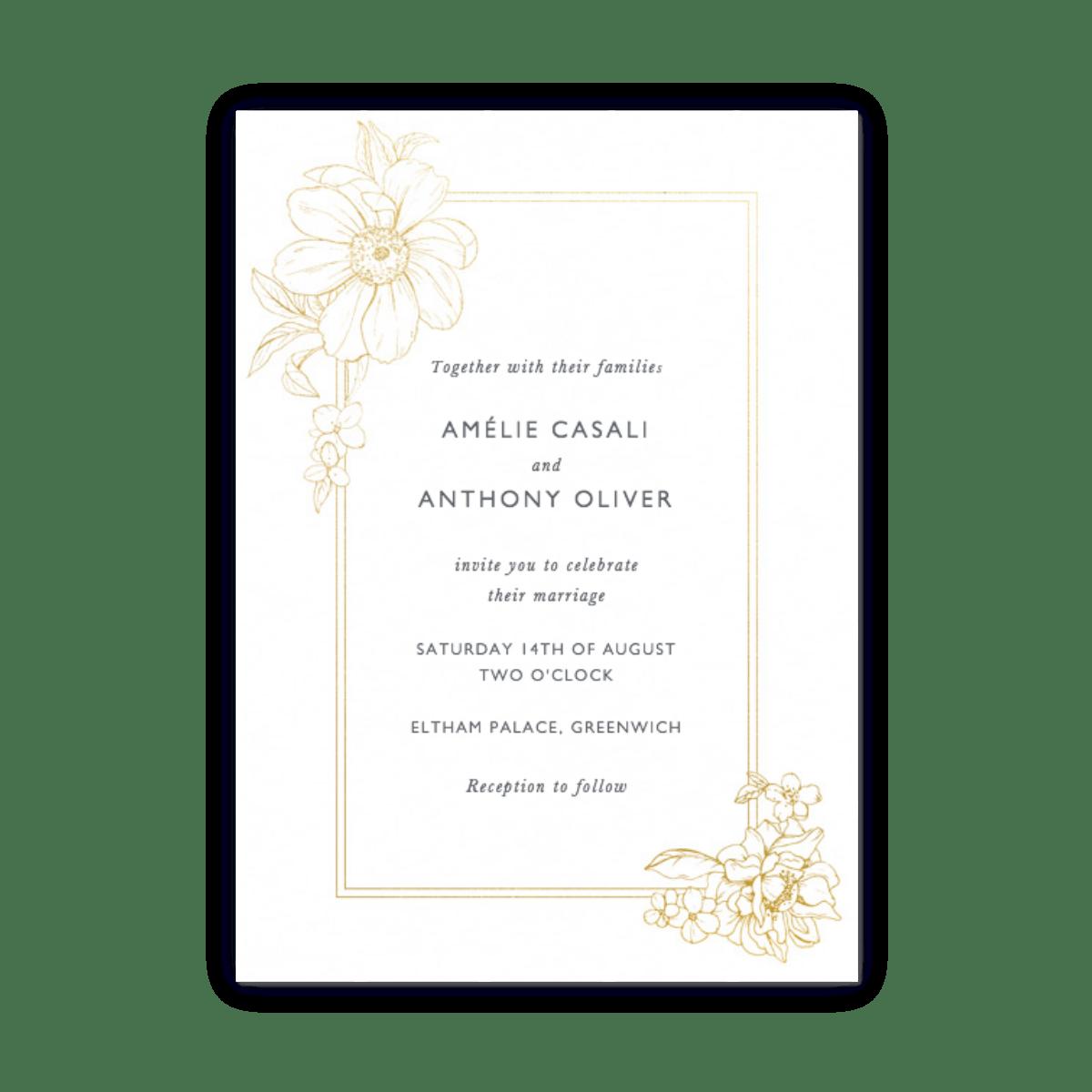 Elegant Wedding Invitations | Papier