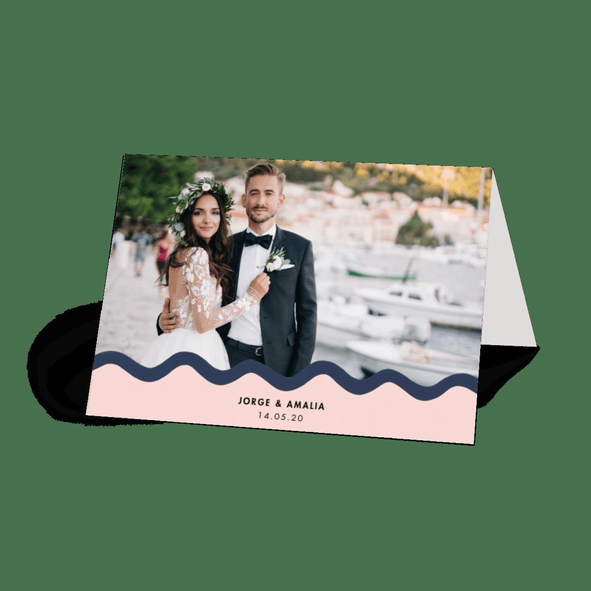 scallop border  photo card set  papier