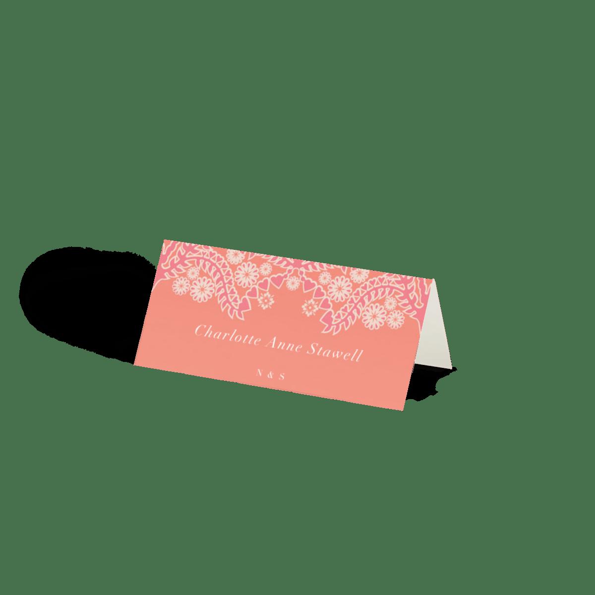 Sunset Lace   Wedding Invitation   Papier